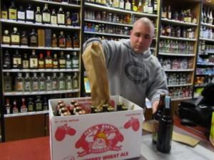 Mass Liquors owner Todd Greamo