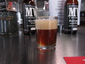 Marshall Wharf's Old No. 55 aged in bourbon barrels releases to the public on January 1, 2011
