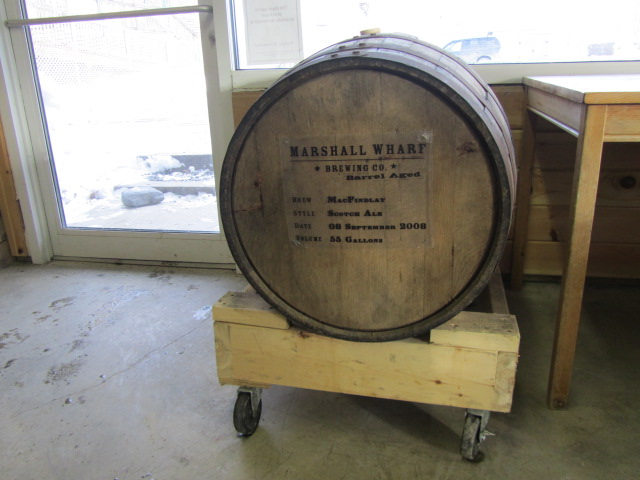 Marshall Wharf barrel-aging program