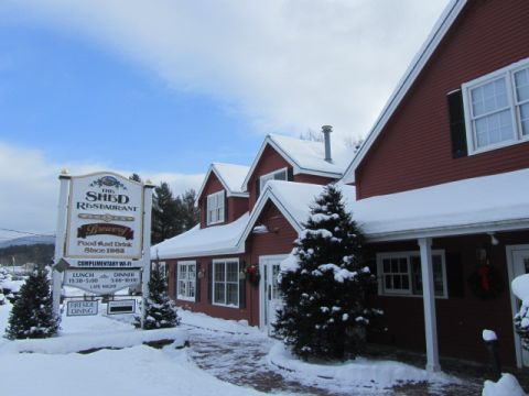 The Shed Restaurant & Brewery in Stowe, VT