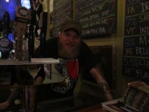 Three Penny Taproom co-owner/bartender Matt McCarthy