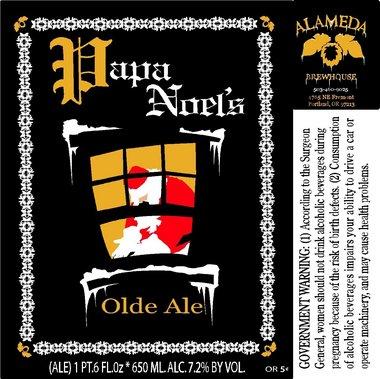 Alameda Papa Noel's Olde Ale