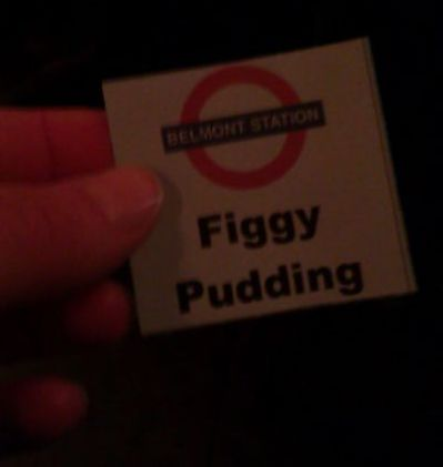 We all love a Figgy Pudding