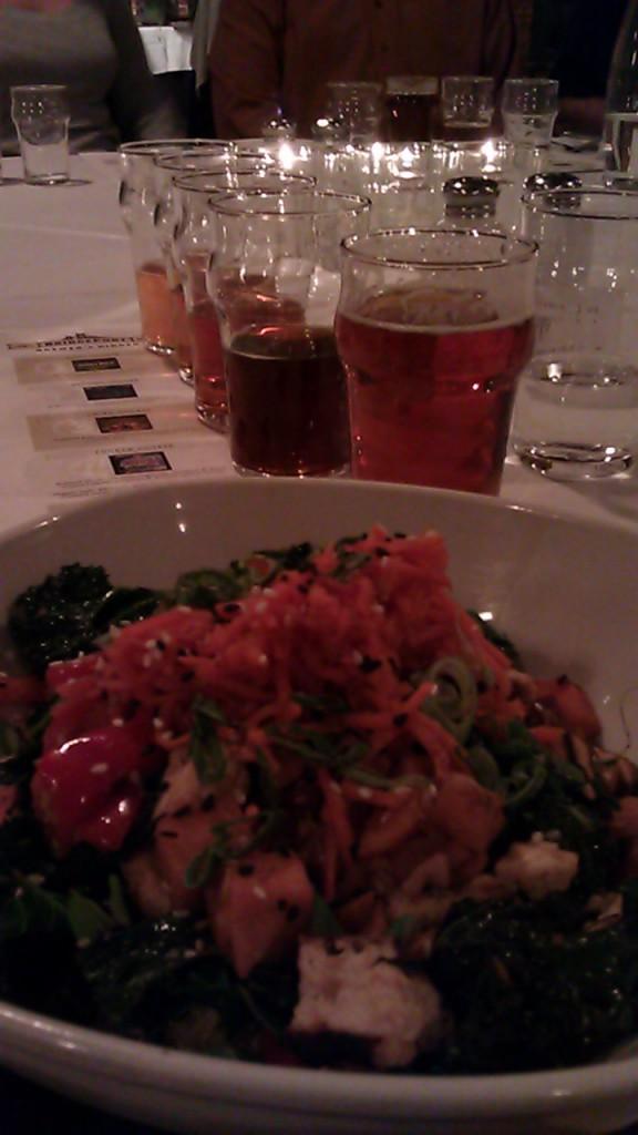 Course 5 of the BridgePort Brewer's Dinner
