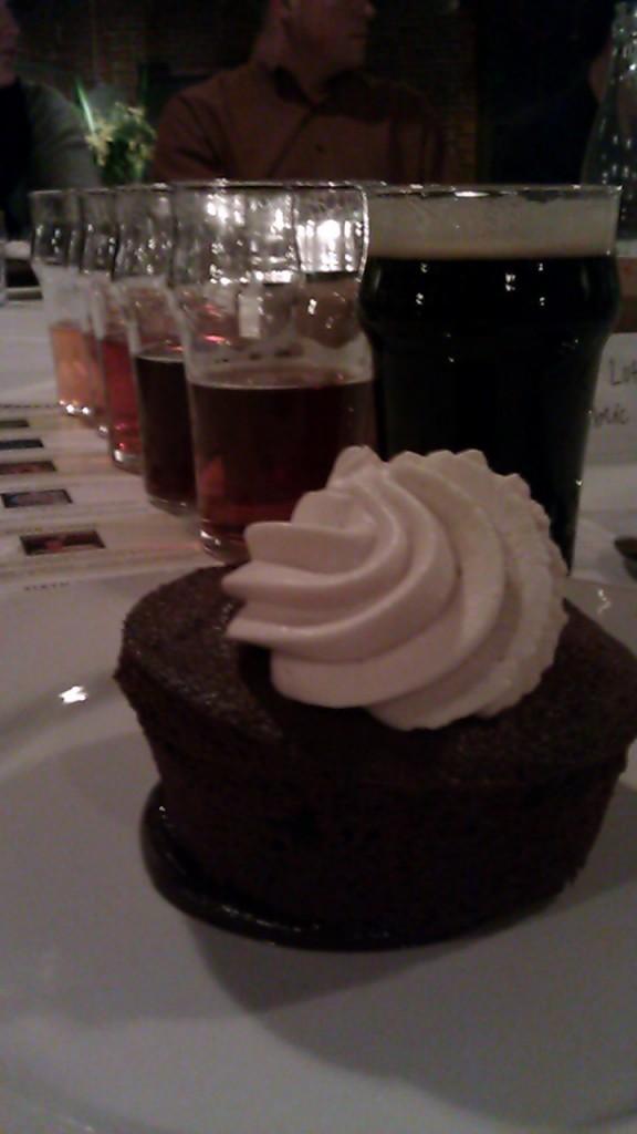 Course 6 of the BridgePort Brewer's Dinner