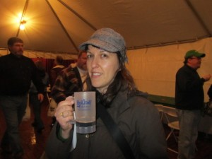 Brewpublic's Margaret at Holiday Ale Fest
