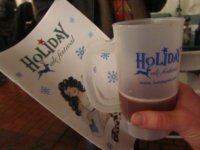 Holiday Ale Fest program and taster mug