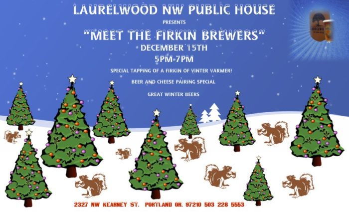Laurelwood Meet the Brewers (click to enlarge)