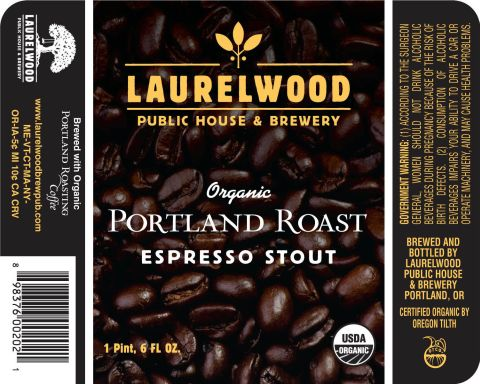 Laurelwood Portland Roast Espresso Stout