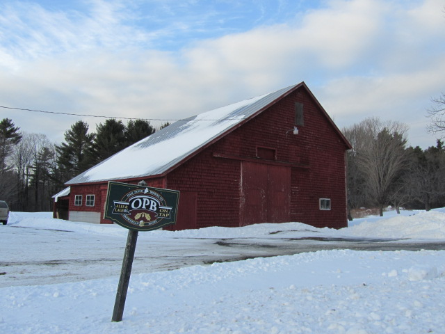Oak Pond Brewery in Skowhegan, Maine
