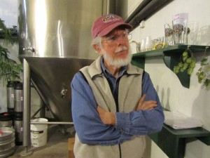 Oak Pond Brewery owner/brewer Don Chandler
