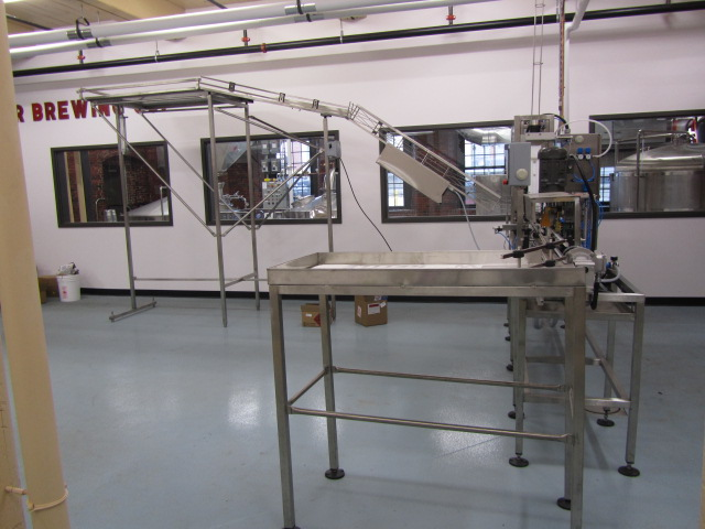 Canning line at Baxter Brewing