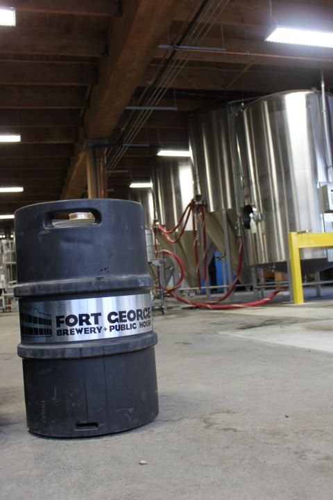 Fort George Brewery expansion
