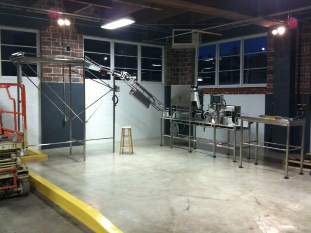 Fort George Brewery's new brewhouse and canning line