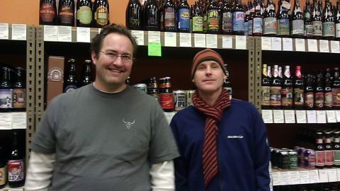 16 Tons founders Mike Coplin (left) and Jeff Moores