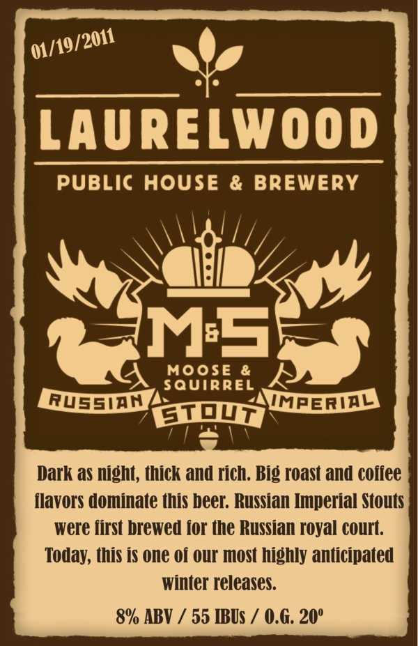 LAURELWOOD MOOSE and SQUIRREL