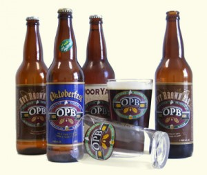 Oak Pond Brewery Bottles