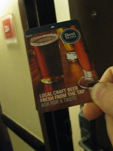 Hotel key card in Asheville, NC