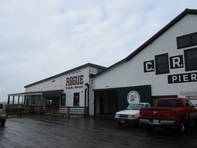 Rogue Public House at Pier 39 in Astoria, OR