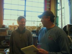 Lucky Lab's Gary Geist (left) and Preston Weesner