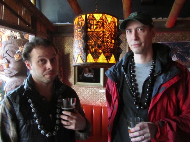 Breakside Brewer Ben Edmunds (left) and Beervana Blogger Jeff Alworth