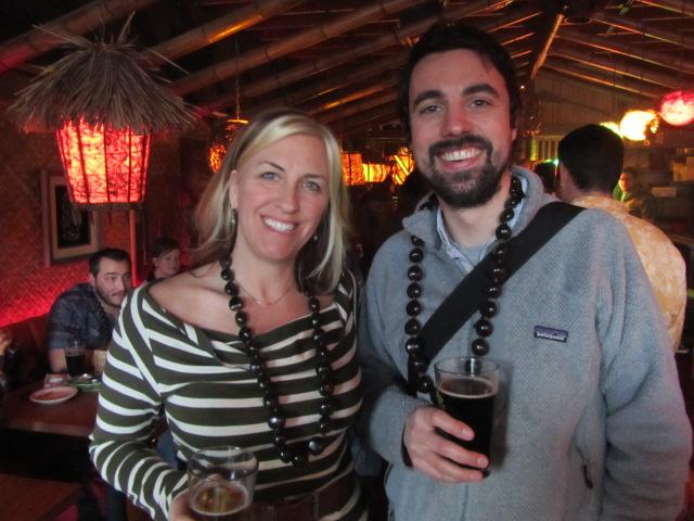 Kona's Sally Murdoch (left) and The Daily Pull's Brady Walen