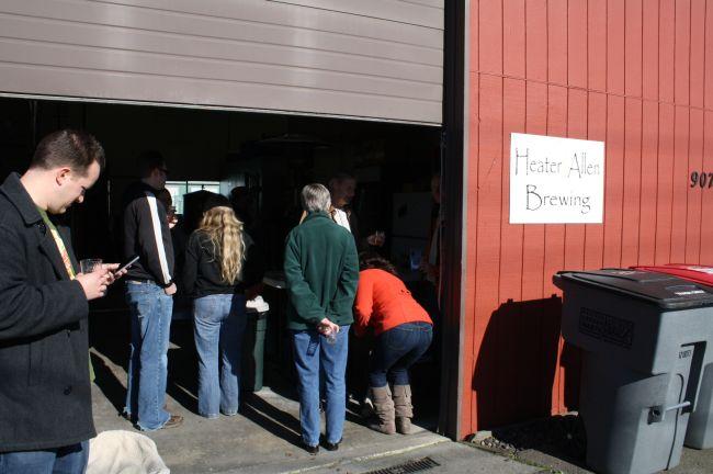 Heater Allen Brewing, Zwickelmania 2011