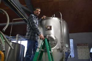 Brewer Henry Gorgas of Fire Mountain Brew House