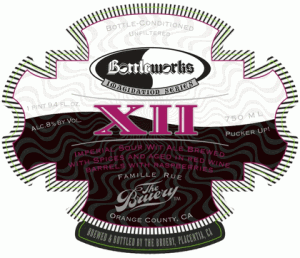 Bottleworks 12th Anniversary Beer by The Bruery