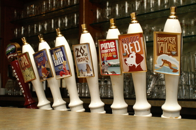 Cascade Lakes Brewing tap handles
