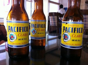 Bottles of Pacifico