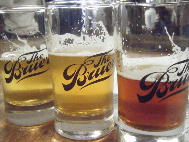 The Bruery samples