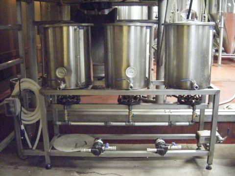 The Bruery's Pilot Brew System