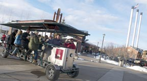 Bend, Oregon Cycle Pub Debuted in Old Mill District at 2011 Bend WinterFest