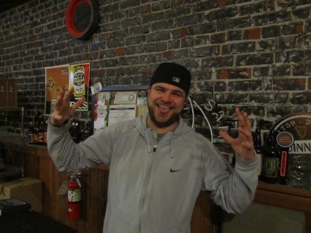 Bridgetown Beerhouse owner Mike Waite