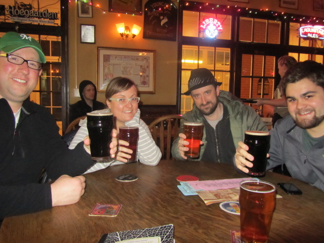 Beers at the Brass with the BrewPubliCrew
