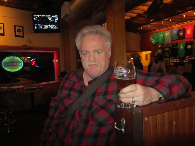 """Larry """"Lars"""" Walters at Laurelwood's 10th Anniversary Party"""