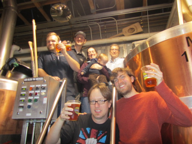 Laurelwood crew: Cheers to a decade of great beer!