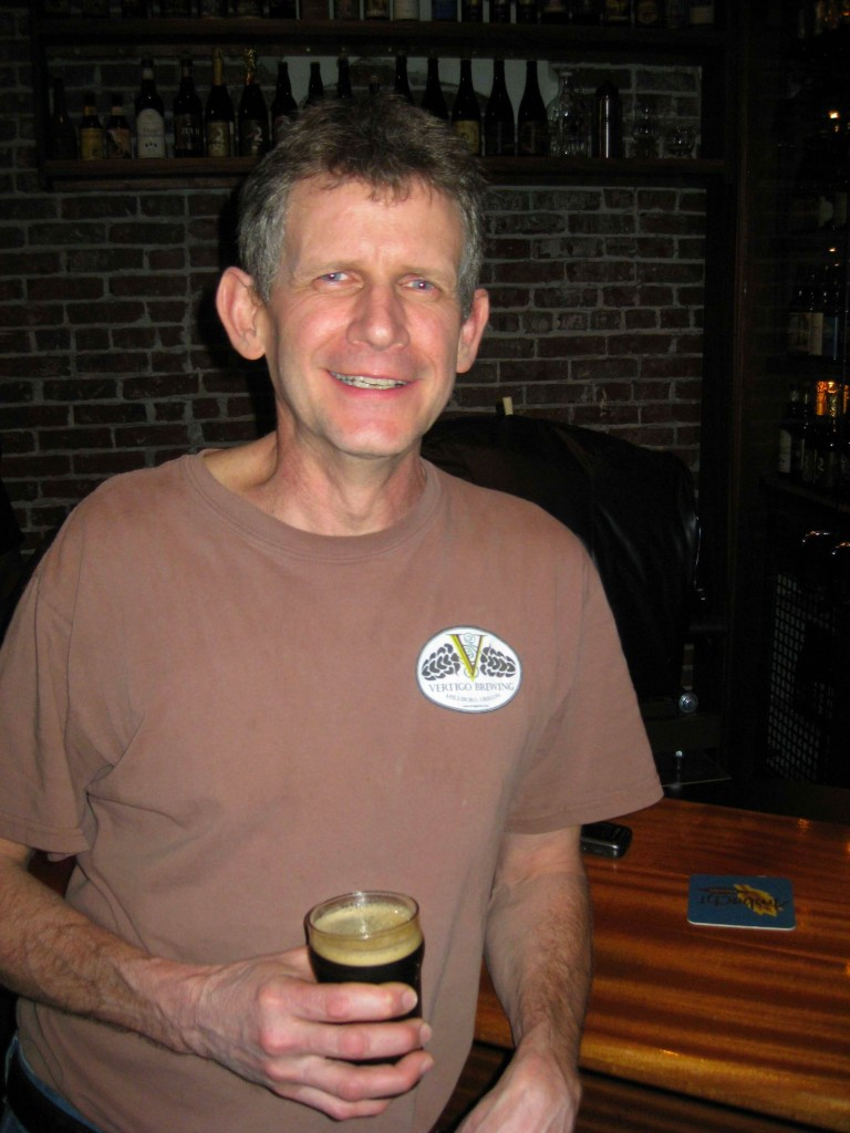Mike Haines of Vertigo Brewing