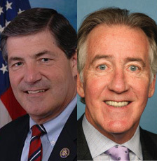 Reps. Jim Gerlach (L) and Richard Neal (R) introduced the Small BREW Act