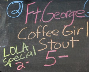 Fort George Coffee Girl Stout