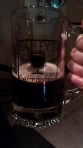 Bailey's GermanFest commemorative mug