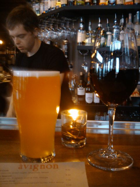 Beer and Wine @ Bar Avignon