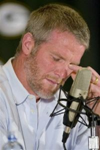 "Brett Farve upset by all of this stated ""Why can't all us Bretts done get along?!"""