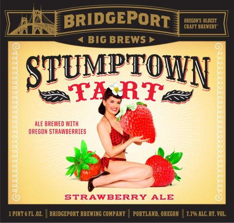 BridgePort Stumptown Tart with Strawberries