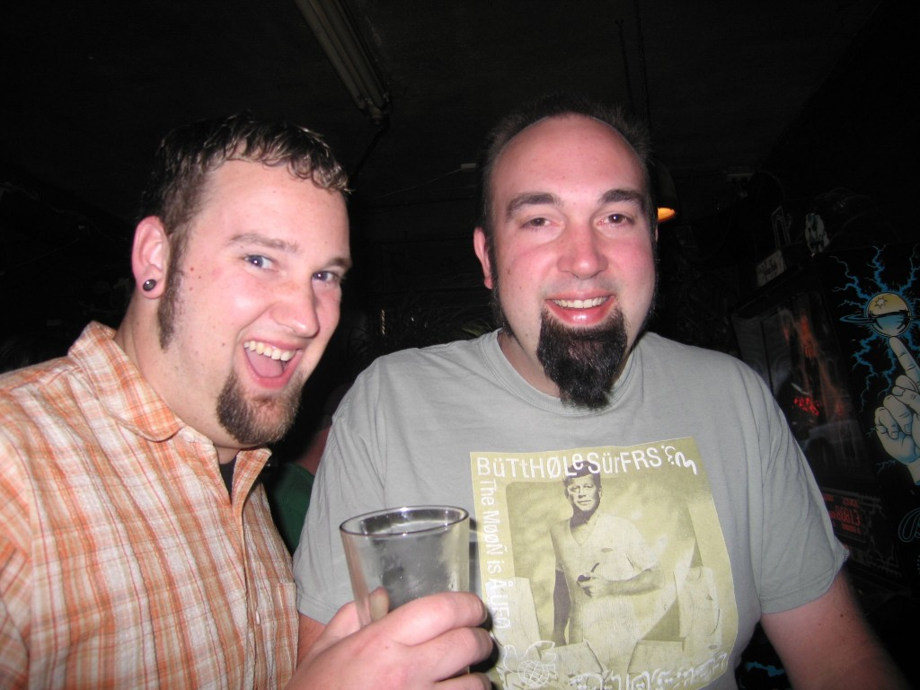 Tim (left) and Chris Ensign