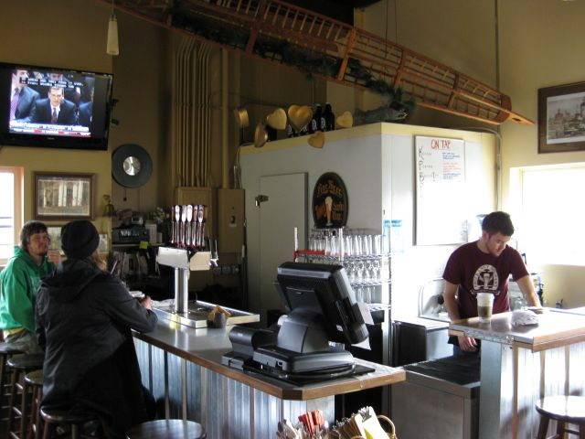 Chuckanut tasting room bar