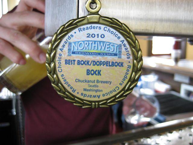 Chuckanut Medal