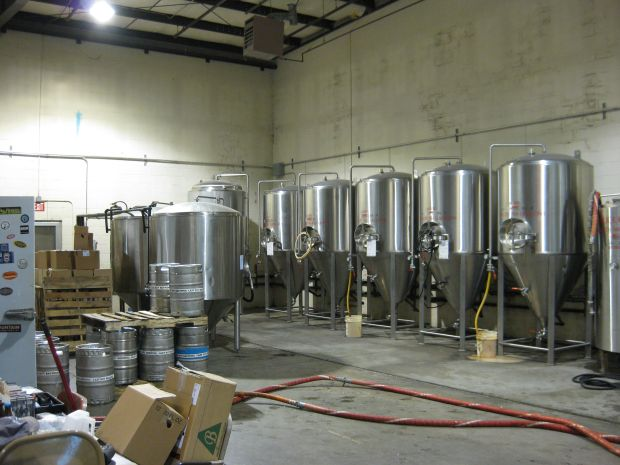 Lazy Boy Brewing Tanks