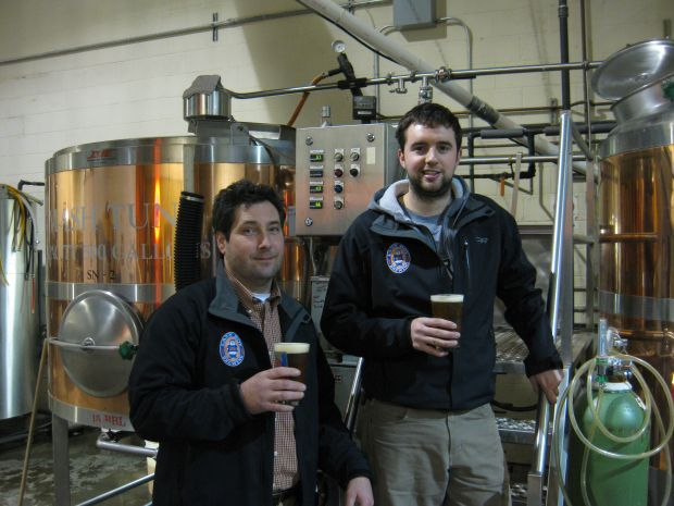 Lazy Boy Brewing Team - Shawn & Kyle